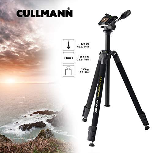 Cullmann Nanomax 460 RW20 Trépied avec Tête à 3 voies + Etui Noir