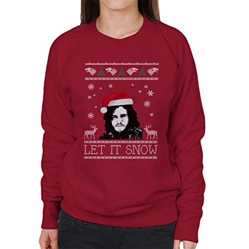 let it snow jon snow christmas