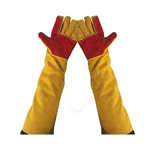 addensare guanti di saldatura resistente al calore del lavoro proteggere guanti, cut-proof Labor...