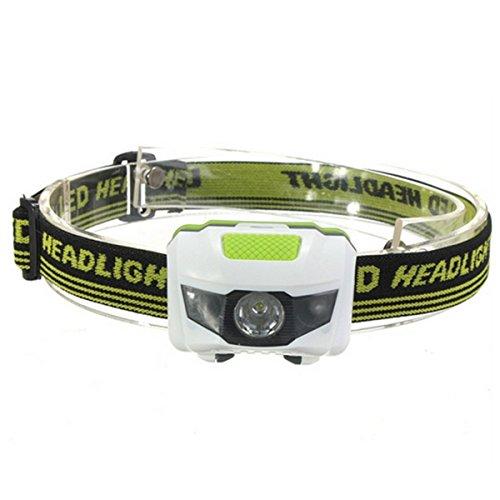 WinCret 3 proiettori a LED Flashlight 300 lumen esterna Caccia Pesca auricolare faro, 3 batterie AAA...