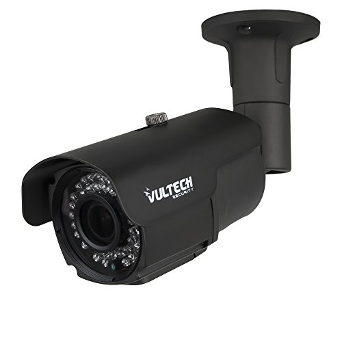 VulTech Security CM-BU960AHDV-G Telecamera, Bullet, Varifocale, AHD, 1/4', 1.3 mpx, 960 p, 2.8-12 mm, LED IR, 42 Pezzi, 40 m, Grigio