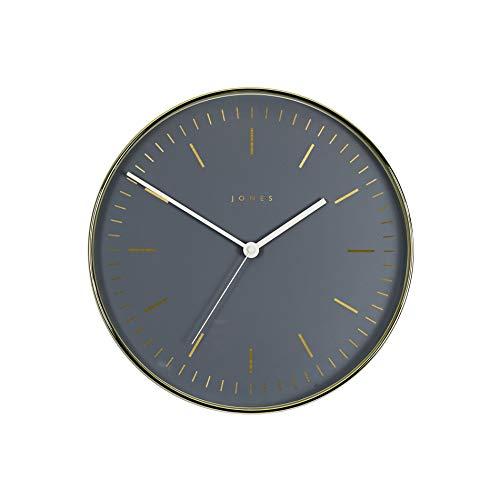 JONES CLOCKS Magazine, Orologio da Parete Rotondo dal Design Moderno in Oro o Rame con pennarelli...