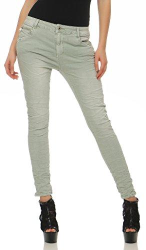 030db0c24c01 LEXXURY Chino Damenjeans Baggy Boyfriend | Der Jeans-Vip Shop