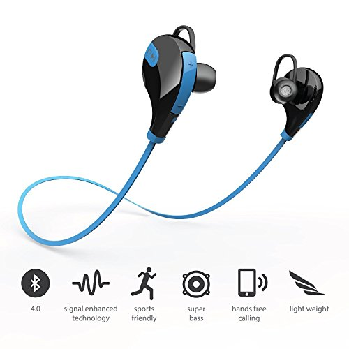 989378994a9 Captcha Bluetooth 4.1 Wireless Stereo In-Ear Headphones ,Hands-Free ...