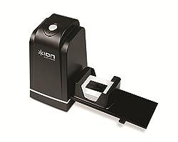 Kaufen ION - Film Slides Forever Hochauflösender 5 Megapixel Dia- & Negativscanner 35mm I mit einstellbarem Rapid Slide Feeder/Diawechsler I ultra-schnelle & einfach I Scanner für Negative & Dias I Schwarz
