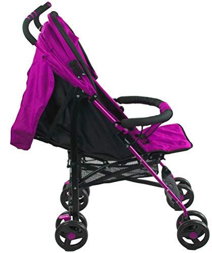 Profiseller CHICCOT Passeggino - Pieghevole Leggero Compatto Passeggino per Bambini (Rosa)