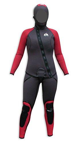 Kynay - Traje de descenso de barrancos kynay para mujer, talla s, color negro y granate
