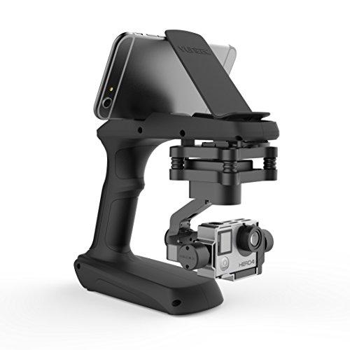 yuneec steadygrip con estabilización Gimbal Incluye Mango adaptador para verwacklungsfreie vídeos de la mano, compatible con GoPro Hero