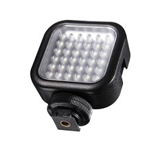 Walimex 20341 LED Negro Proyector - Proyectores (LED, 36 bombilla(s), Negro, LED, 6500 K, 260 lx)