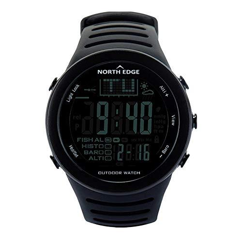NORTH EDGE Reloj Deportivo Deportivo al Aire Libre, Relojes Digitales para Hombres con altímetro meteorológico Barómetro Termómetro Altitud Escalada Senderismo Horas