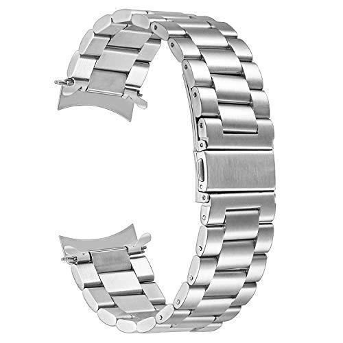 TRUMiRR per Gear S3 Classic/Frontier Cinturino, Braccialetto di affari del braccialetto del rimontaggio della cinghia dell'acciaio inossidabile del metallo di 22mm per Samsung Gear S3 Sport Smartwatch