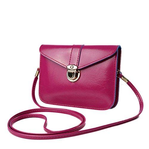 2a3e9b0bb5 Clearance JYC Ladies Women s Zero Purse Bag Leather Handbag Single Shoulder  Messenger Phone Bag Handbag Classic Women Purse Handbag for Women Satchel  Purse