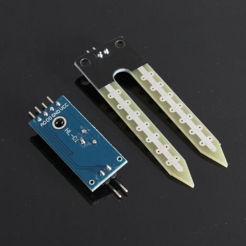41JeyZwyHML - SODIAL(R) Suelo higrometro Deteccion de humedad Modulo Sensor de humedad Prueba de Arduino PI