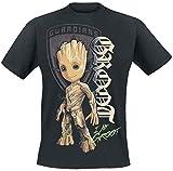 les Gardiens de la Galaxie 2 - Groot Shield T-Shirt Noir M