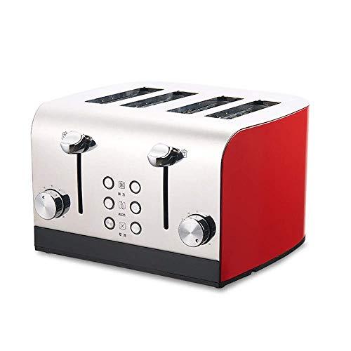 RMXMY Crema per la casa Tostapane per Quattro fette Tostapane Attrezzo per la Prima Colazione in...