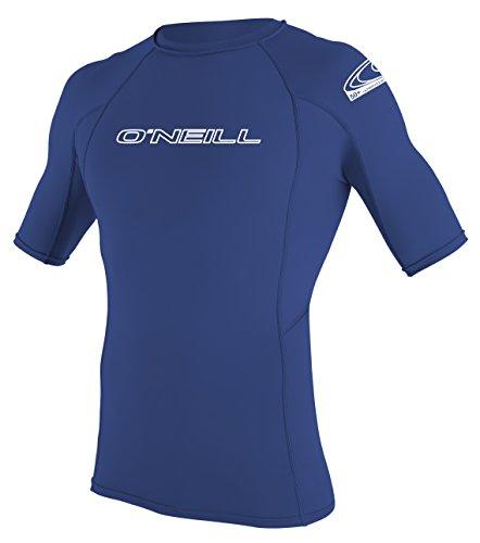O'Neill Wetsuits Muta da Uomo Basic Skins S/S Crew con Protezione dai Raggi UV