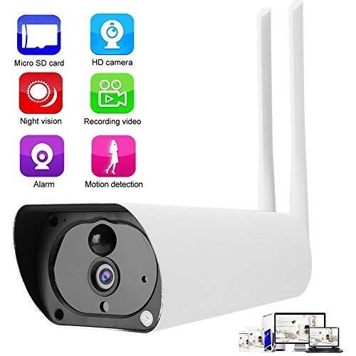 Telecamera sicurezza IP, HD 1080P 4G SIM Telecamera CCTV esterna Supporto Rilevazione movimento, Visione notturna, Avvisi push, IP67 Impermeabile, Smart Telecamera IP di sorveglianza.(120 MHz)