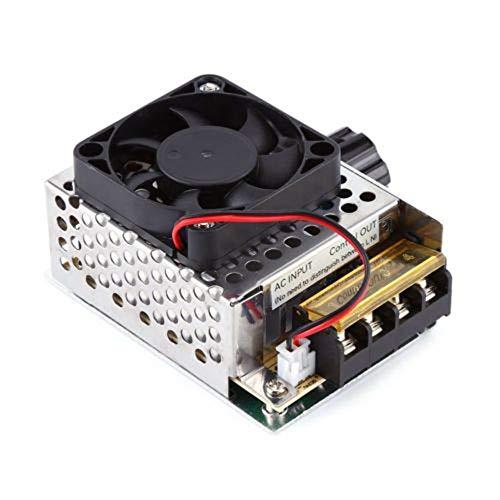 BFHCVDF Dimmer del termostato del Ventilatore del regolatore di velocità del Motore del regolatore...