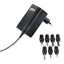 Kaufen ANSMANN APS 300 Universal Stecker Netzteil 12V inkl. 7 verschiedende Adapter Stecker - Netzstecker bis max. 300mA - Netzadapter zur Stromversorgung vieler Elektrokleingeräte von 3-12 Volt regelbar