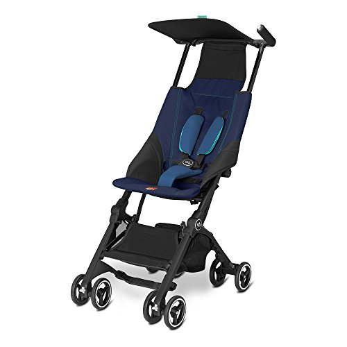 Cybex 616230004 GB Pockit Passeggino, Sea Port Blue