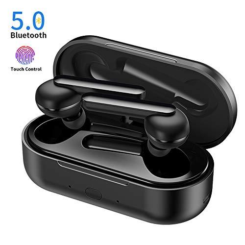 Auriculares-Bluetooth-Chaobai-Blutooth-50-EDR-Earbuds-Mini-en-la-Oreja-Auriculares-5H-Playtime-con-Micrfono-Funcin-Tctil-Estuche-de-Carga-Porttil-para-iPhone-iPad-Android-Telfonos-etc