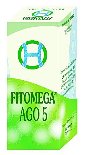 FITOMEGA AGO 5 - GTT.50 ml-Complesso Fitosinergico