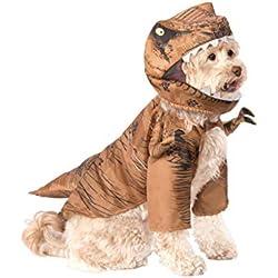Rubie'S Jurassic World: Fallen Kingdom T. Rex - Disfraz para Mascota, Talla pequeña