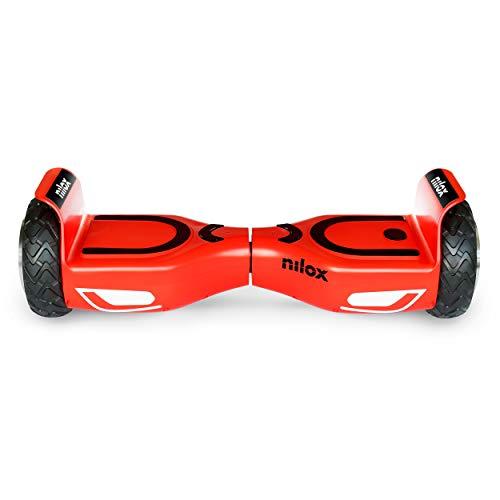 Nilox Doc 2 Hoverboard, Unisex Adulto, Rosso/Nero, Taglia Unica