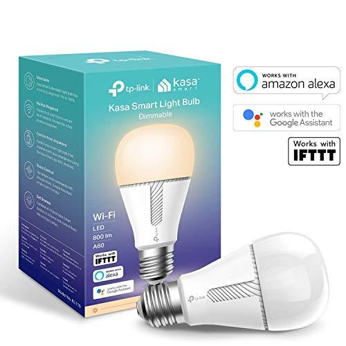 TP-Link KL110 Kasa Smart - Lampadina Wi-Fi E27, 10 W, Funziona con Amazon Alexa (Echo e Echo Dot),...