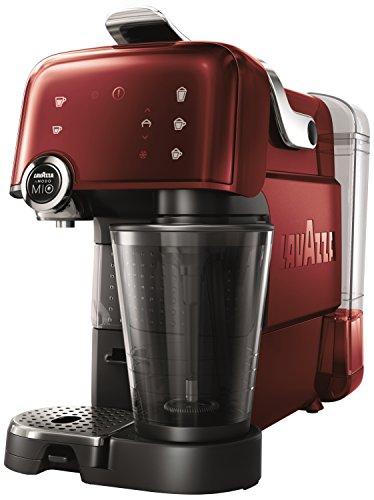 Lavazza, LM7000, Macchina per il caffè Fantasia, con schiumalatte integrato, Rosso (Rot)