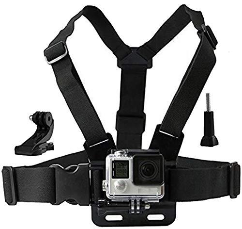 LONDON FAB Imbracatura Action Camera, Compatibile con GoPro e Tutte Le Action Cam (Imbracatura pettorale)