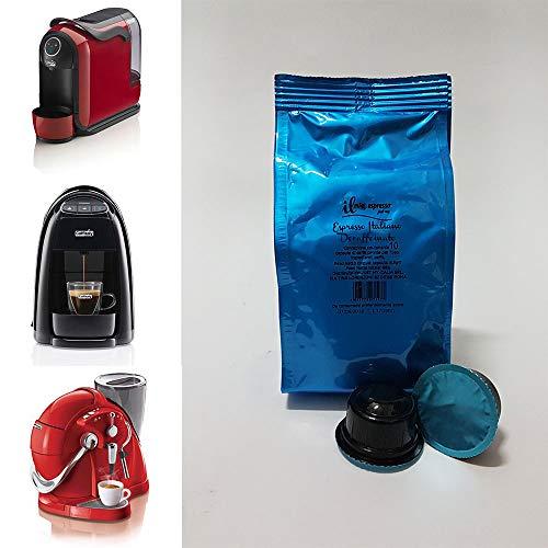 100 capsule compatibili Caffitaly Espresso Decaffeinato - 10 sacchetti da 10 capsule Decaffeinato per macchina caffè Caffitaly - Capsule dedicate a macchine Caffitaly - Il Mio Espresso