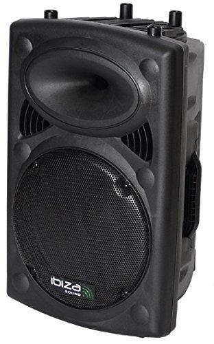 Ibiza Sound & Light SLK12 - Bafle pasivo, color negro
