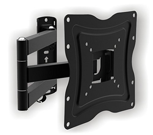 Z C 1337 Corner Cantilever Articulating Arm Swivel & Tilt Full Motion Wall Mount Tv Bracket Stand for Most 13 to 37 Inch for LCD, Led, 3D Tvs 19 22 24 27 28 32 37 Zipp