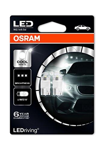 OSRAM LED Premium Retrofit W2.1x9.5d, LED-W5W, illuminazione per interni, 2850CW-02B, Cool White,...