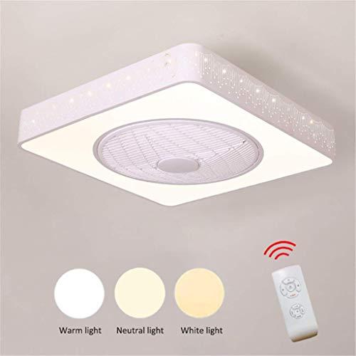 TUNBG Ventilatore da soffitto Moderno Creativity Fan Semplice da lampadario a LED Ventilatore da...