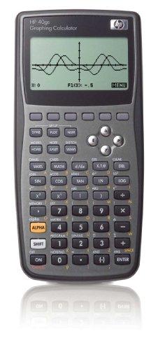 HP HP40GS - Calculadora gráfica (pantalla LCD, 256 KB, 18,7 x 9,4 x 3,1 cm, incluye pilas)