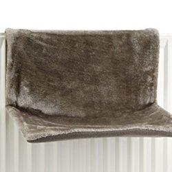 katzeninfo24.de Beeztees 405300 Heizungshaengematte Sleepy, 46 x 31 x 24 cm, Grau