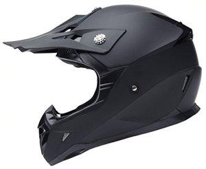 Motocross Motorradhelm Downhill Fullface Helm - Yema YM-915 Cross DH Enduro Quad Mountainbike BMX MTB Helm ECE für Damen Herren Erwachsene 1