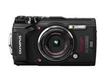 Olympus TG-5 - Cámara Digital (ultraresistente, Sumergible, Vídeos en 4K, 4 Modos de Macro, WiFi Integrado) Color Negro