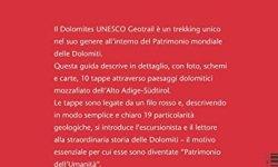 + Dolomites Unesco geotrail. Ediz. italiana italiano libri