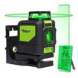 Huepar 901CG 1 x 360 Niveau Laser Croix Vert, Ligne Laser Auto-nivellement...