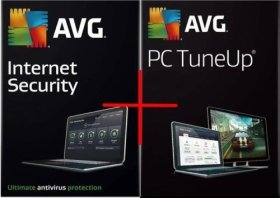AVG Internet Security 2018 2 pc 2 year + 2 User Avg Pc tune up 2 Year (download software link and Activation key) via Amazon Message, Delivery on same day. 2 User 2 year
