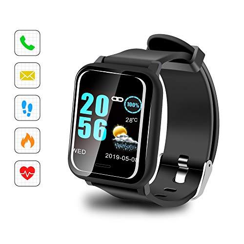 Sonkir Orologio Fitness Tracker Pressione Sanguigna Cardiofrequenzimetro da Polso Uomo Donna Impermeabile IP67 Smartwatch
