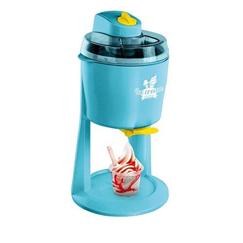 Macchina del Ghiaccio gelato macchina per gelato macchina 1200ML (riscaldatore di ghiaccio, gelato a pistone, Sorbetto, Frozen Yogurt, turchese)