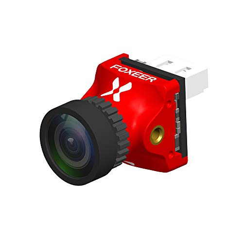 FOXEER Predator V4 Nano FPV Camera Super WDR 4ms Bassa latenza 1000TVL 1.8 mm FPV Racing Camera OSD...