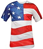 Other Men Printed T-Shirt S2-USA Flag L