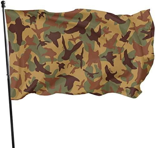 QiangQ Bandiera Garden Flag Patry Flag Outdoor Flag Seasonal Wild Goose Shape Camouflage Garden Flag...