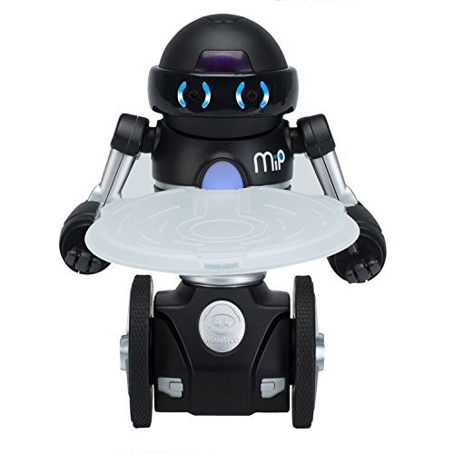 41L7VK9ulCL - Wow Wee- MIP Robot, Color Negro (WowWee 0825)
