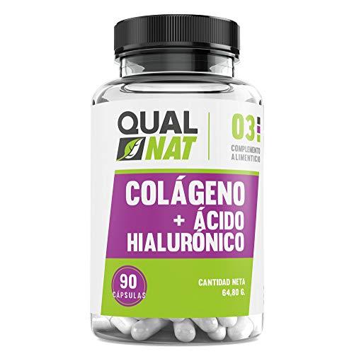 Collagene con acido ialuronico per una pelle sana - Collagene con vitamina C e zinco per contribuire a migliorare l'elasticità e la salute delle ossa e delle articolazioni - 90 capsule